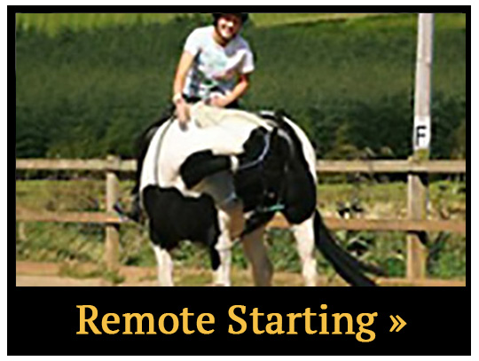 Remote Horse Starting